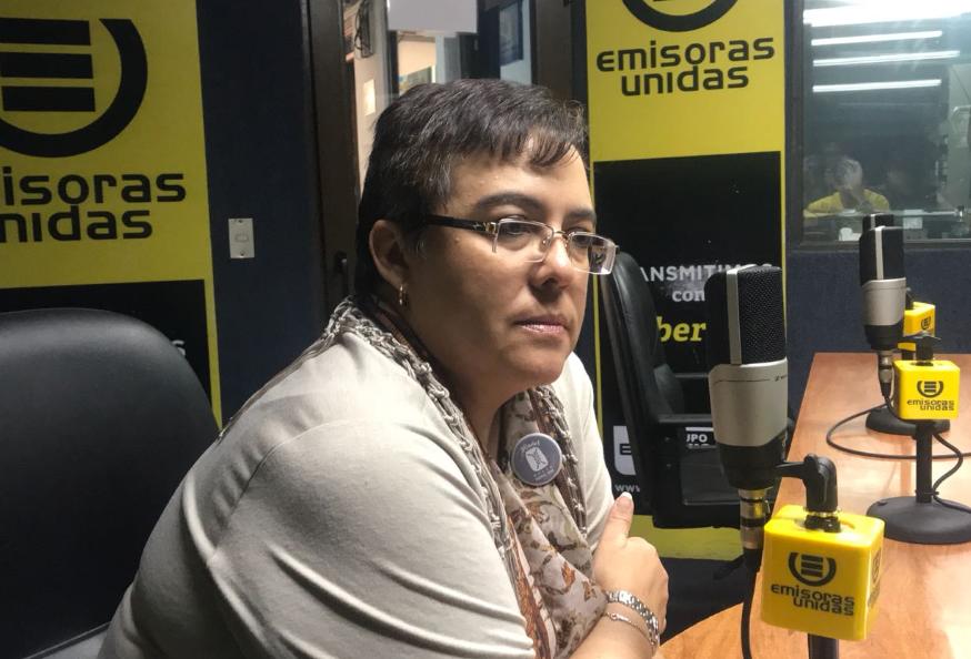 Rossanna Valls, gerente del Museo del Popol Vuh