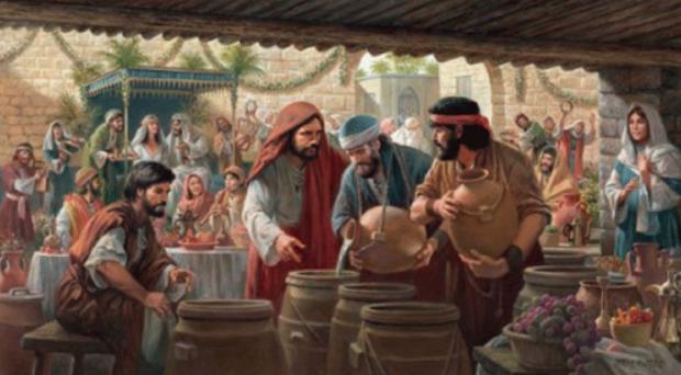 El primer milagro de Jesús 5