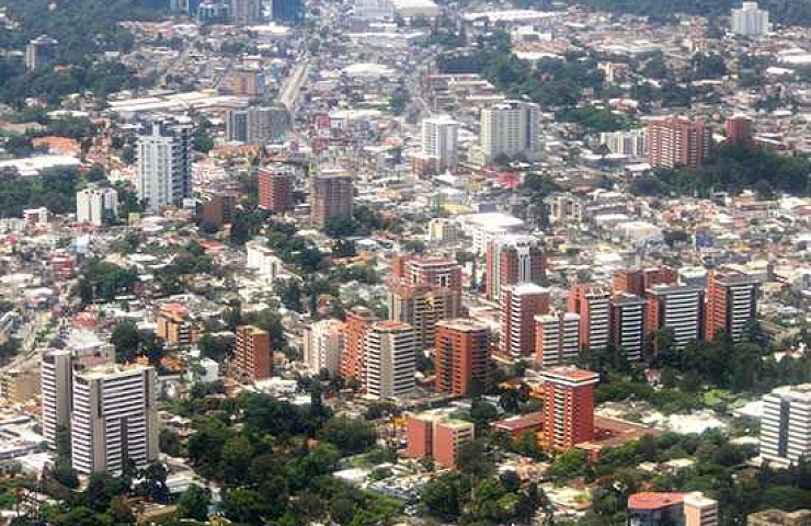 Ciudad de Guatemala. Foto AGN