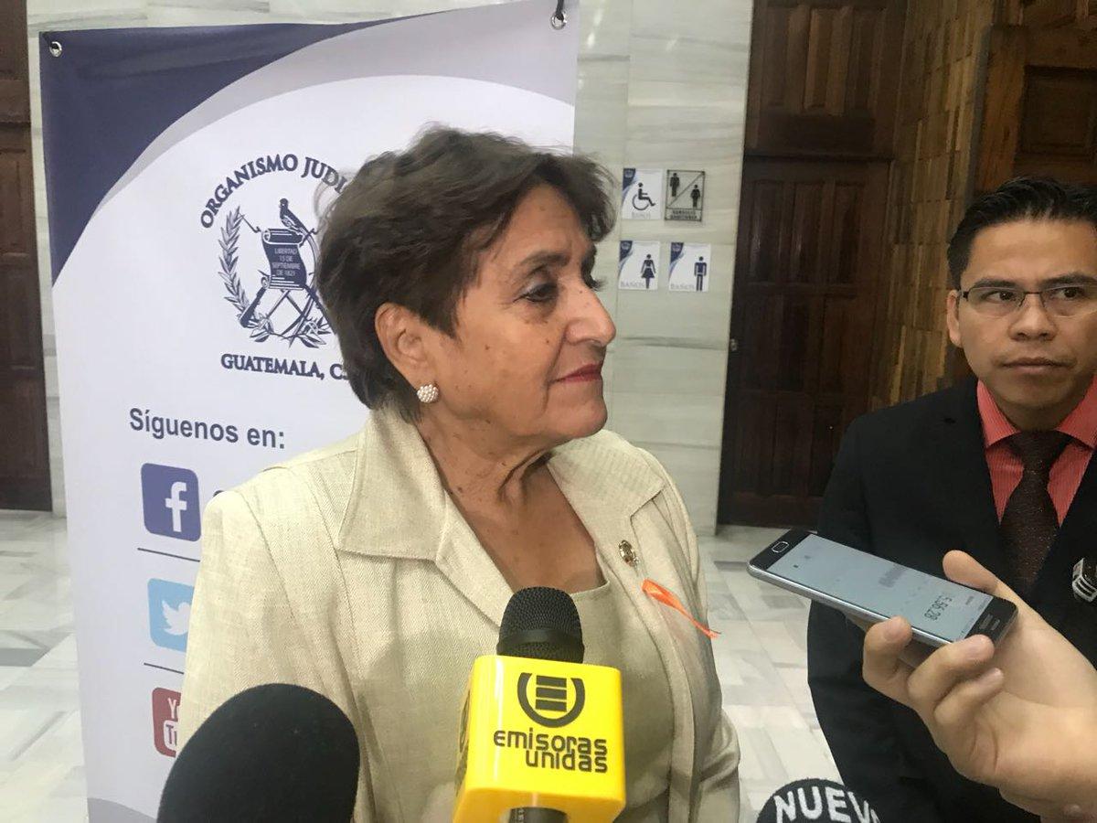 Magistrada Elizabeth García