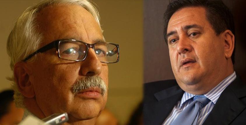 Luis Mendizábal y Gustavo Alejos