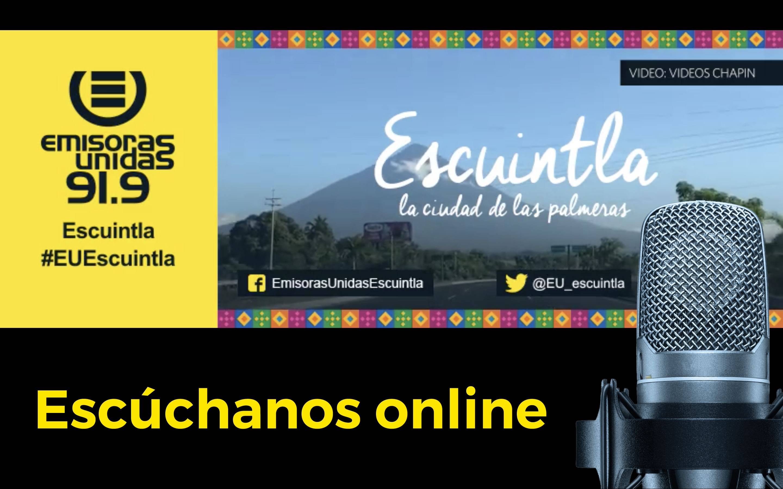 #euescuintla escuintla streaming online radio live guatemala emisoras unidas eu