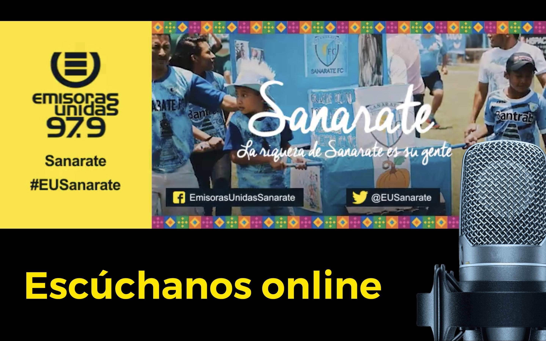 #eusanarate sanarate streaming online radio live guatemala emisoras unidas eu