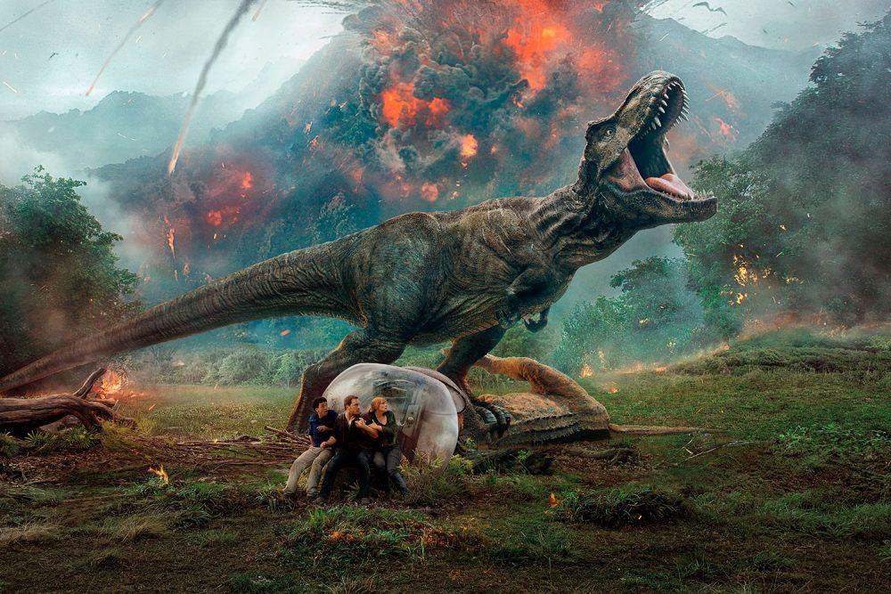 Cine Murcia España Jurassic World 2 el reino caido juan antonio bayona