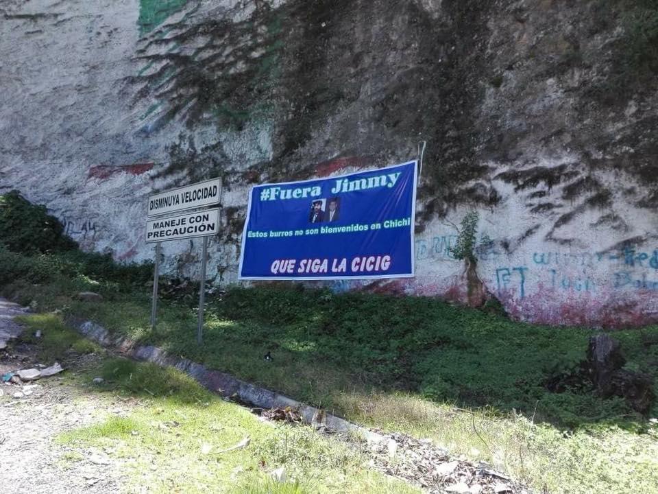 chichicastenango manta jimmy no es bienvenido segun pobladores