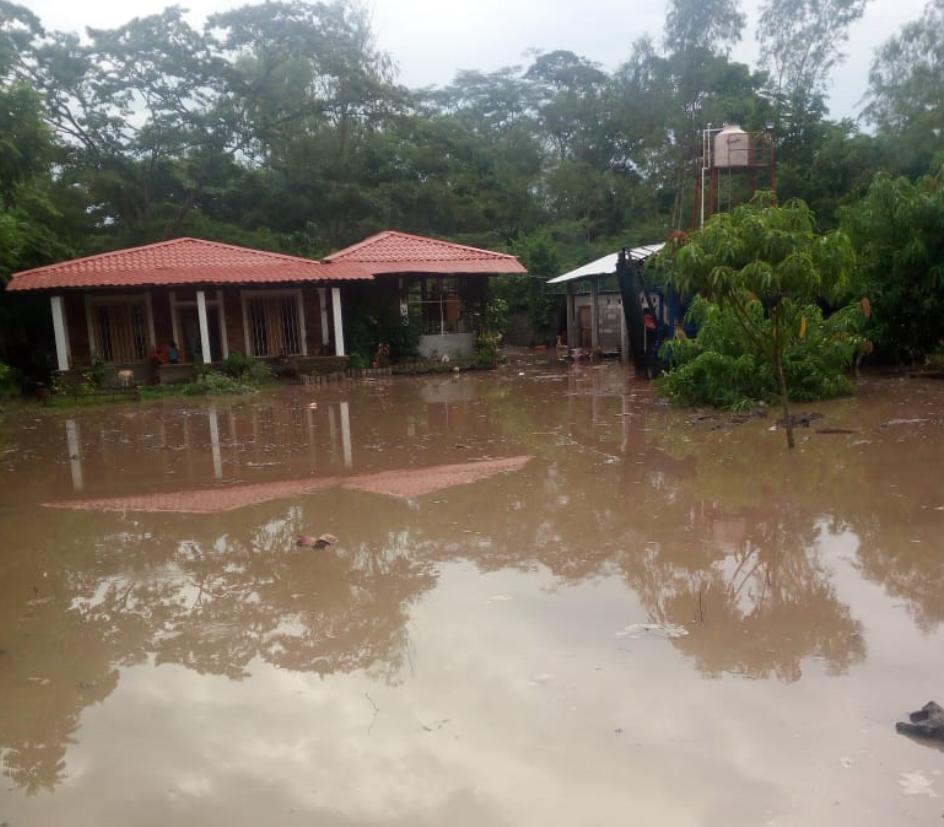 Inundación en Suchitepéquez