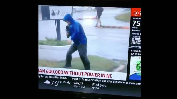 Video Viral Huracán Florence