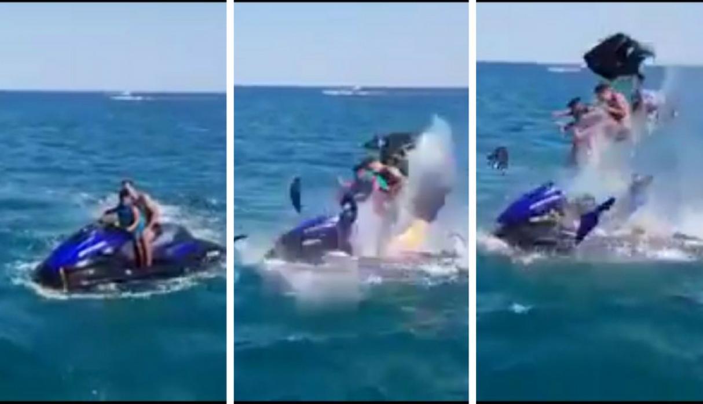 Video Viral Explosión Moto acuática Marruecos Emisoras Unidas