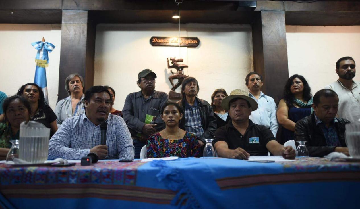 Colectivos y organizaciones indígenas y campesinas