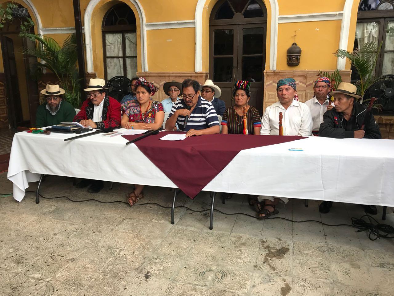 Comunidades indígenas, xincas y garífunas