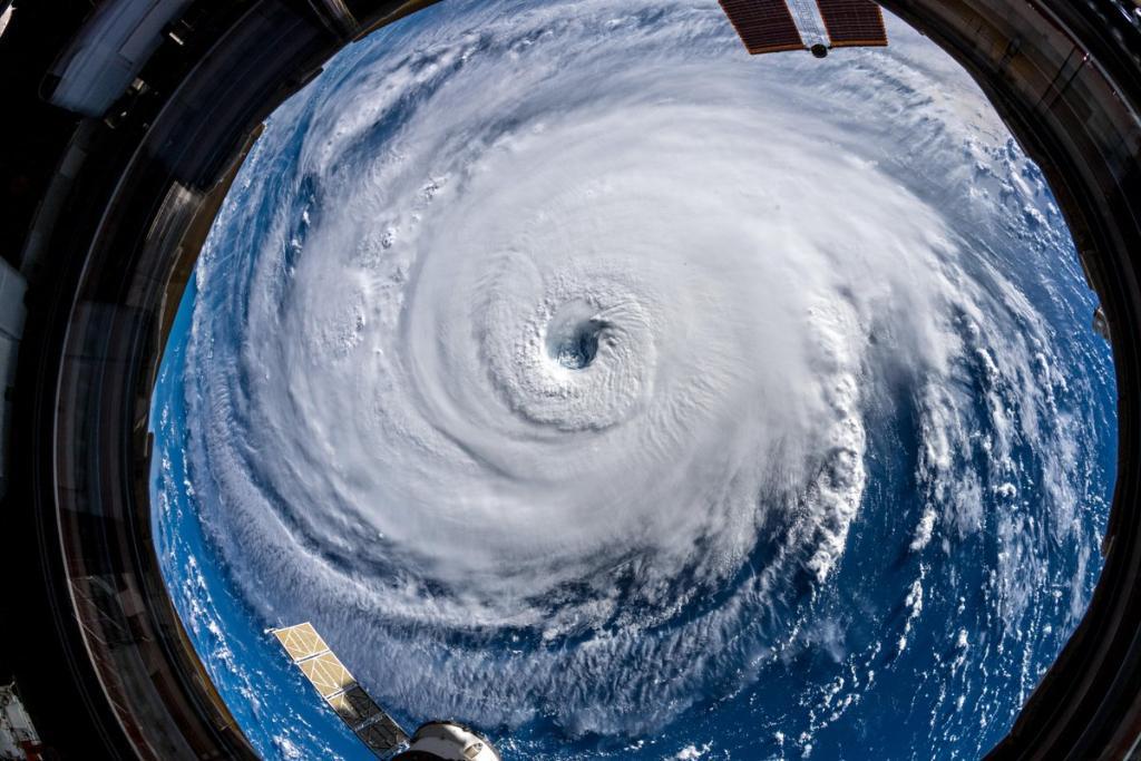 Video Viral NASA huracán Florence Emisoras Unidas