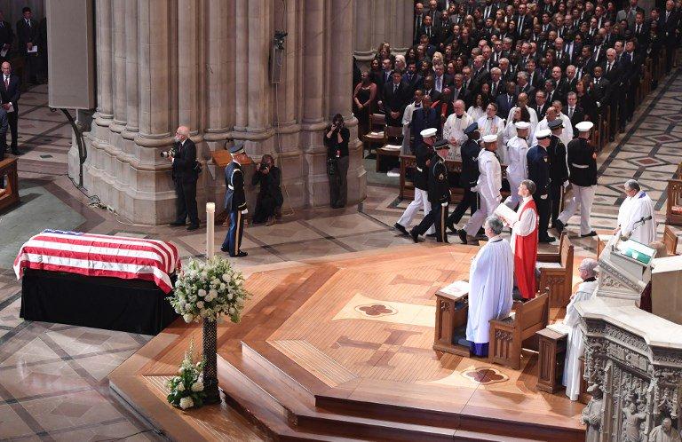 Honras fúnebres de John McCain