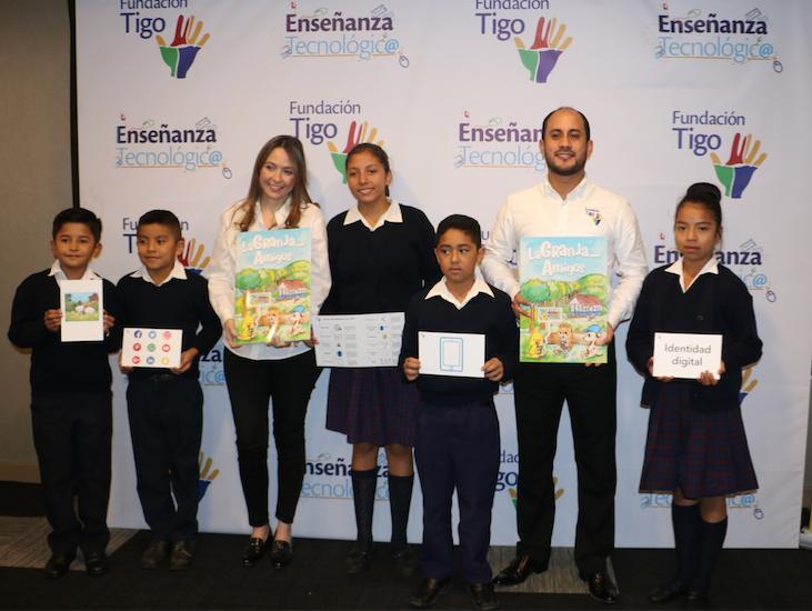 """Fundación Tigo presentó el programa """"Enseñanza Tecnológica"""""""