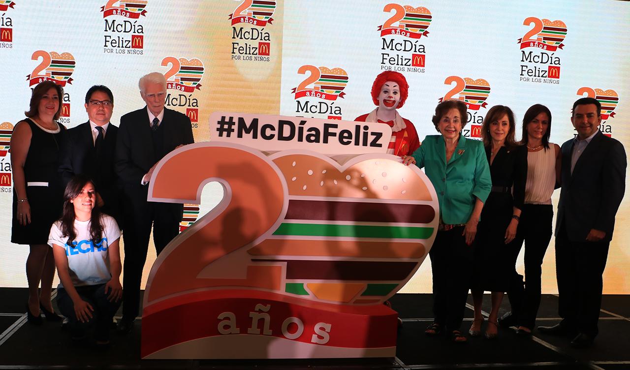 McDonald's Guatemala McDía Feliz Fundación Aldo Castañeda Techo Emisoras Unidas