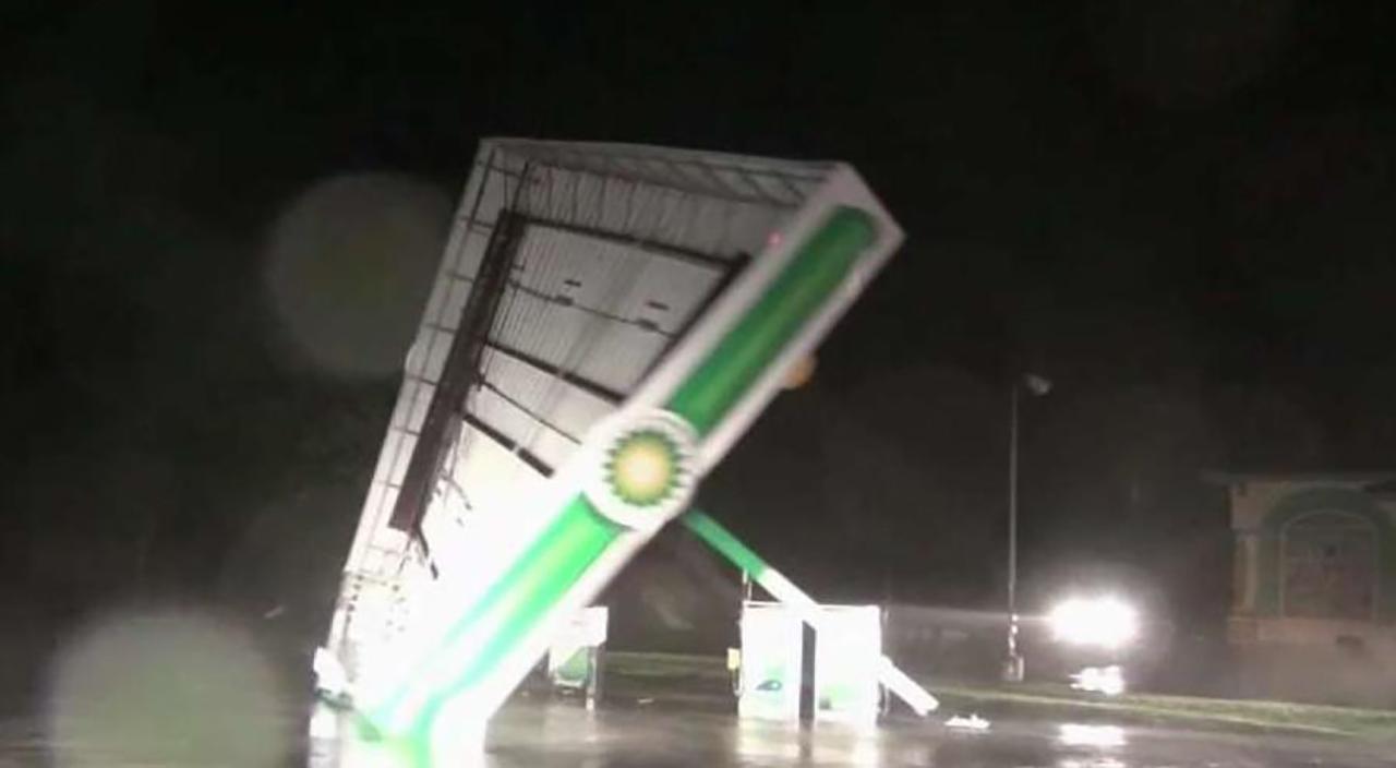 Video Viral Huracán Florence Carolina Norte Estados Unidos