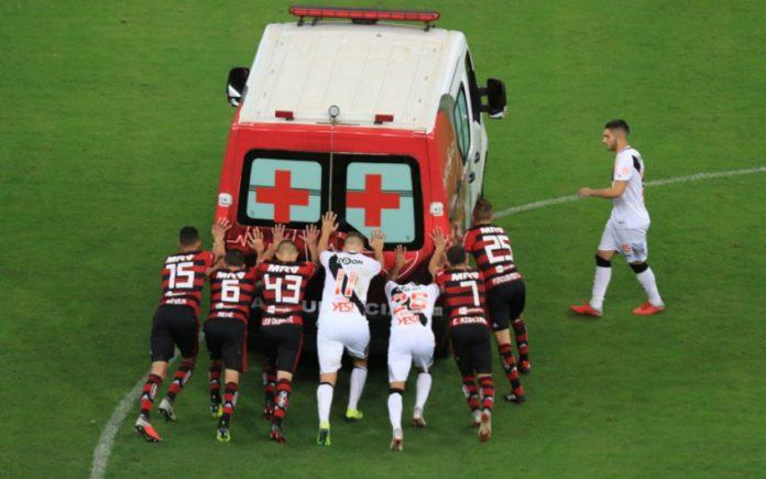 Video Viral Fútbol Brasil Ambulancia Emisoras Unidas