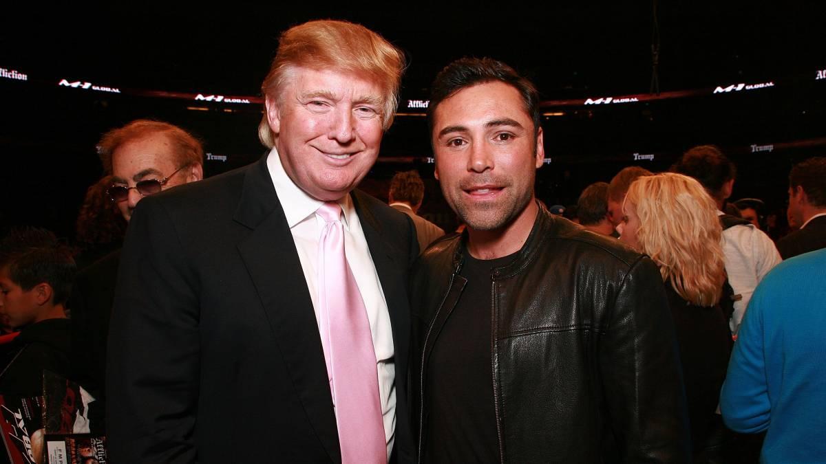Boxeo Oscar De La Hoya Elecciones Presidente Estados Unidos Emisoras Unidas