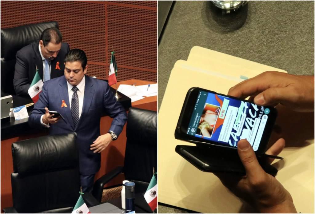 Ismael García Cabeza Senado PAN México Whatsapp