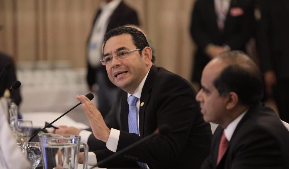 Presidente Jimmy Morales