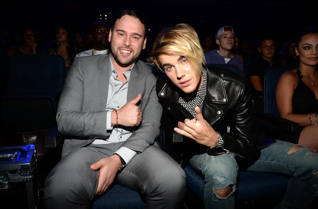 Manager Scooter Braun Justin Bieber Emisoras Unidas