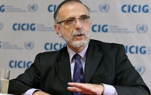 Comisionado Iván Velásquez