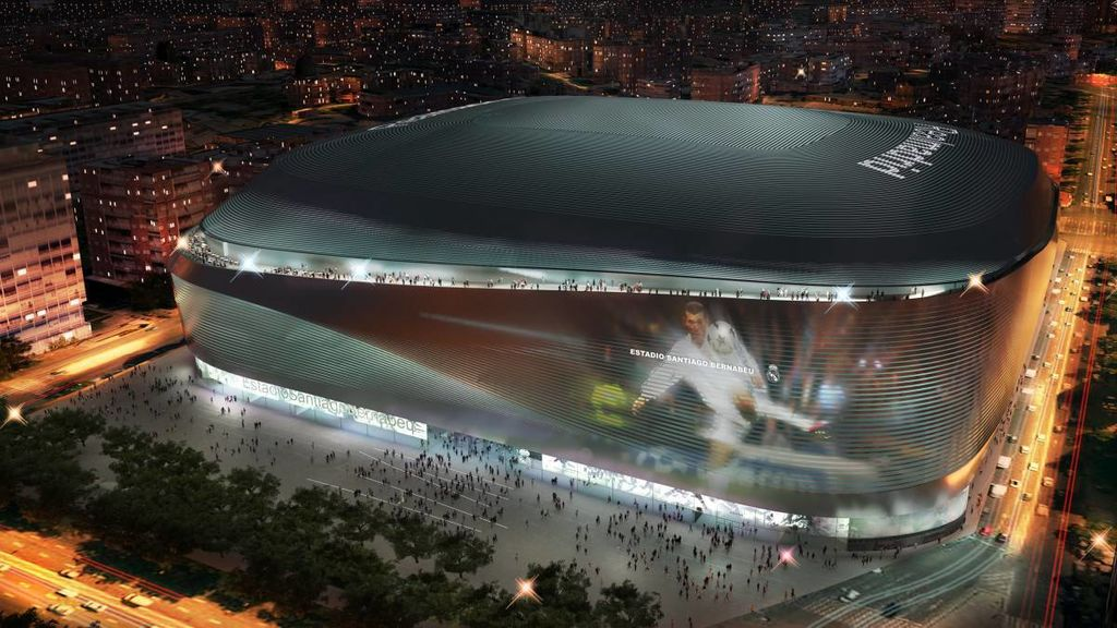 Video fútbol Santiago Bernabéu Real Madrid