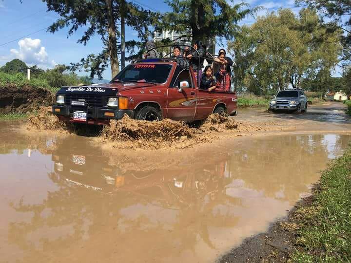 carreteras en mal estado quiche san antonio ilotenango san pedro jocopilas