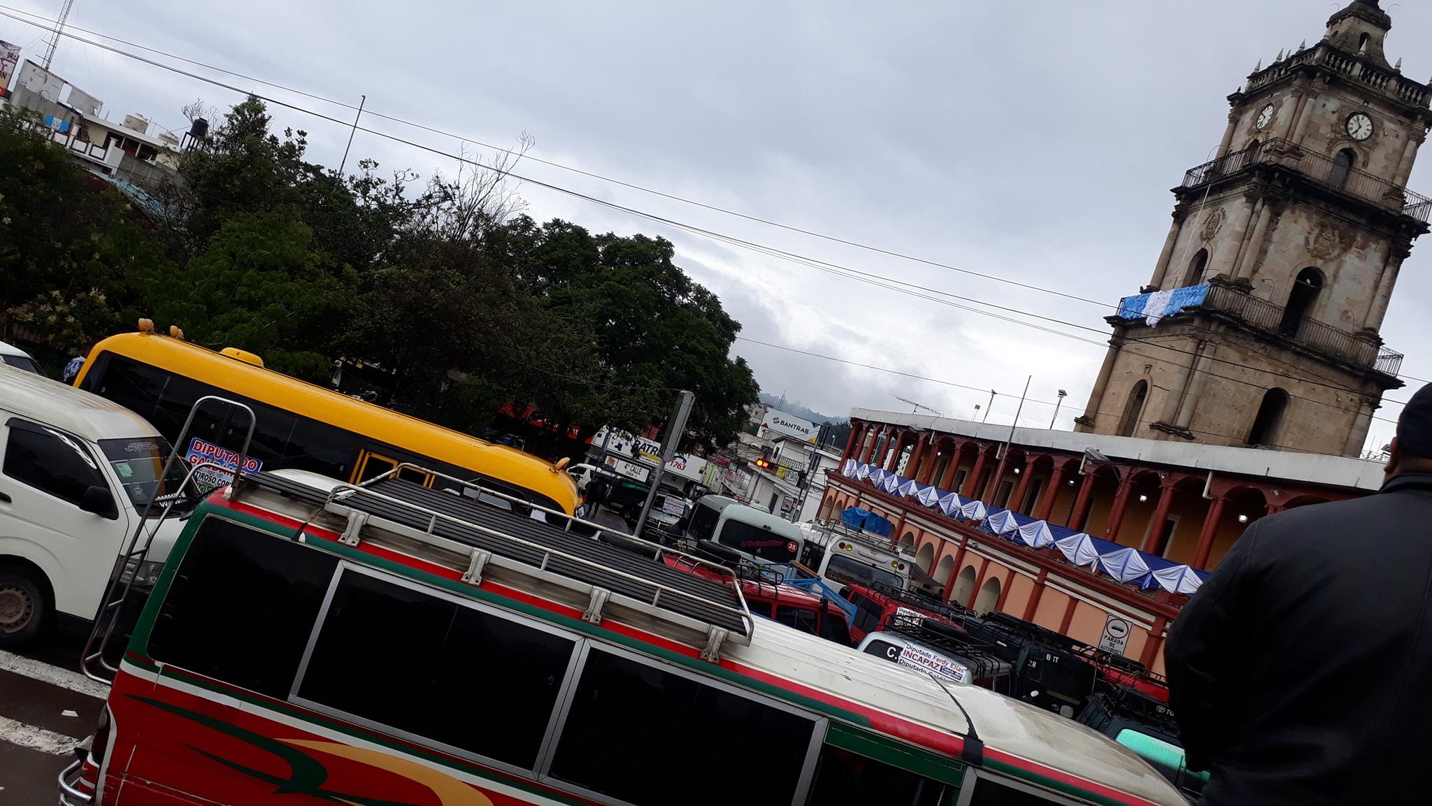 transportistas paro bloqueos quiche