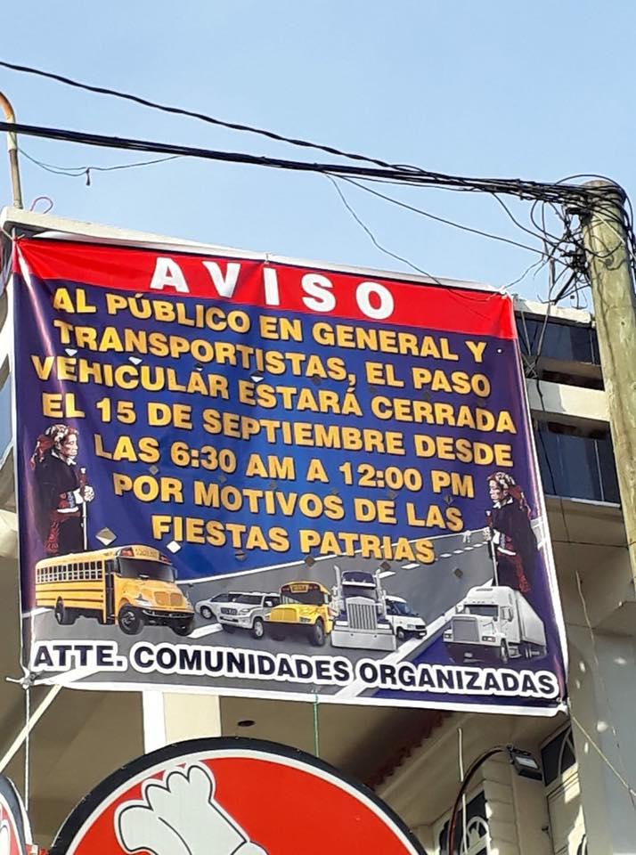 chichicastenango cierre carretera los encuentros santa cruz quiché guatemala desfile mes patrio fiestas septembrinas
