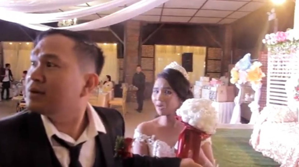 video viral boda tornado Filipinas Emisoras Unidas