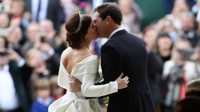 boda real Princesa Eugenia Jack Brooksbank escoliosis