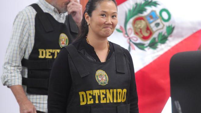 Keiko Fujimori quedará libre
