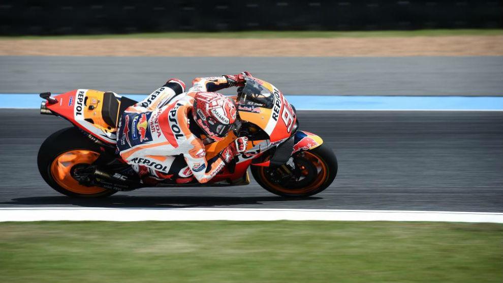 Video MotoGP Marc Márquez Tailandia