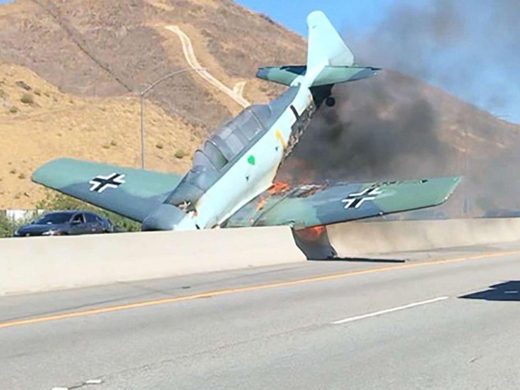 Accidente avión nazi segunda guerra mundial california estados Unidos