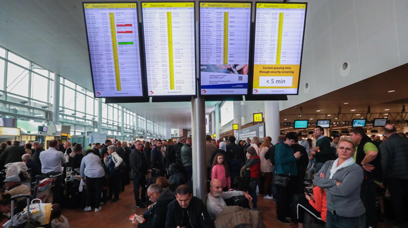 Al menos 130 vuelos anulados por nueva jornada de huelga