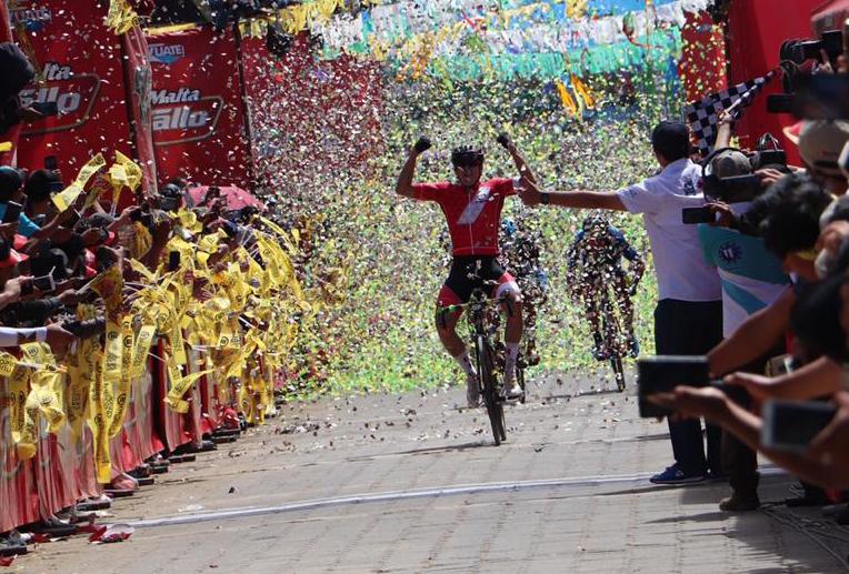 Alonso Gamero Perú Vuelta Ciclística a Guatemala