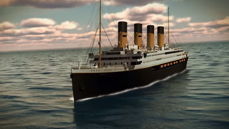 Titanic Blue Star Line