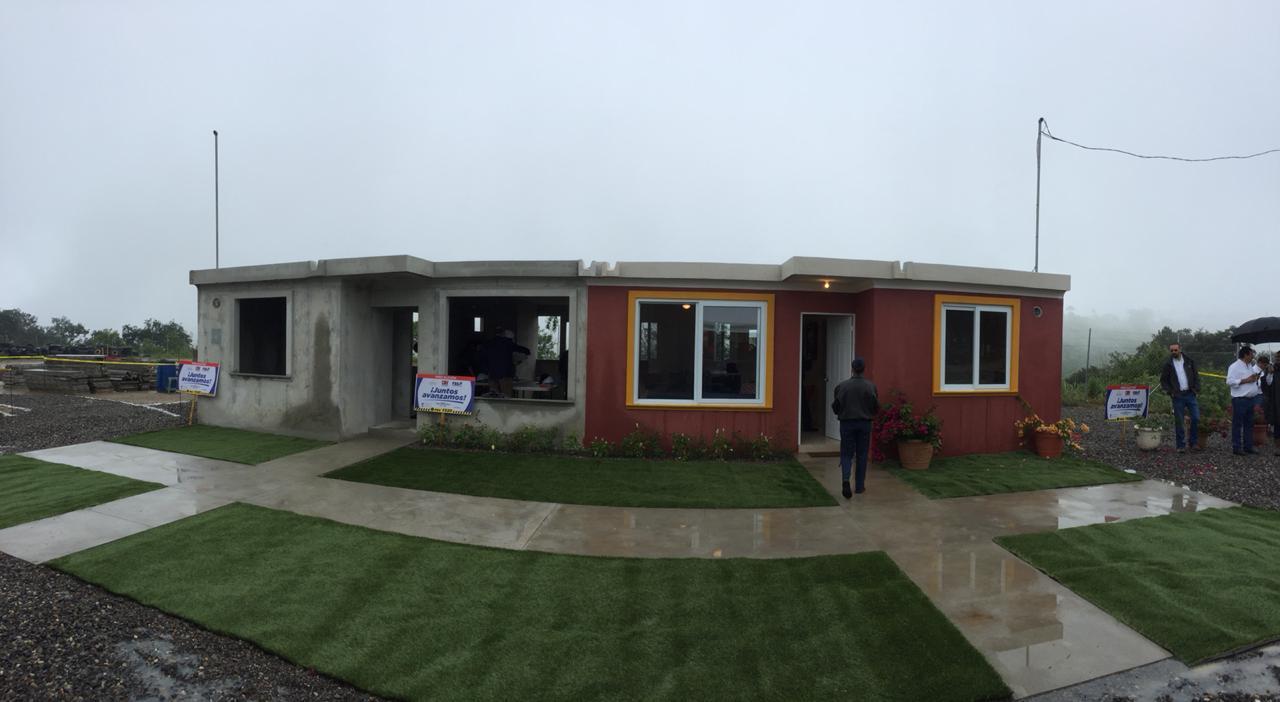 Construcción casas finca la Industria