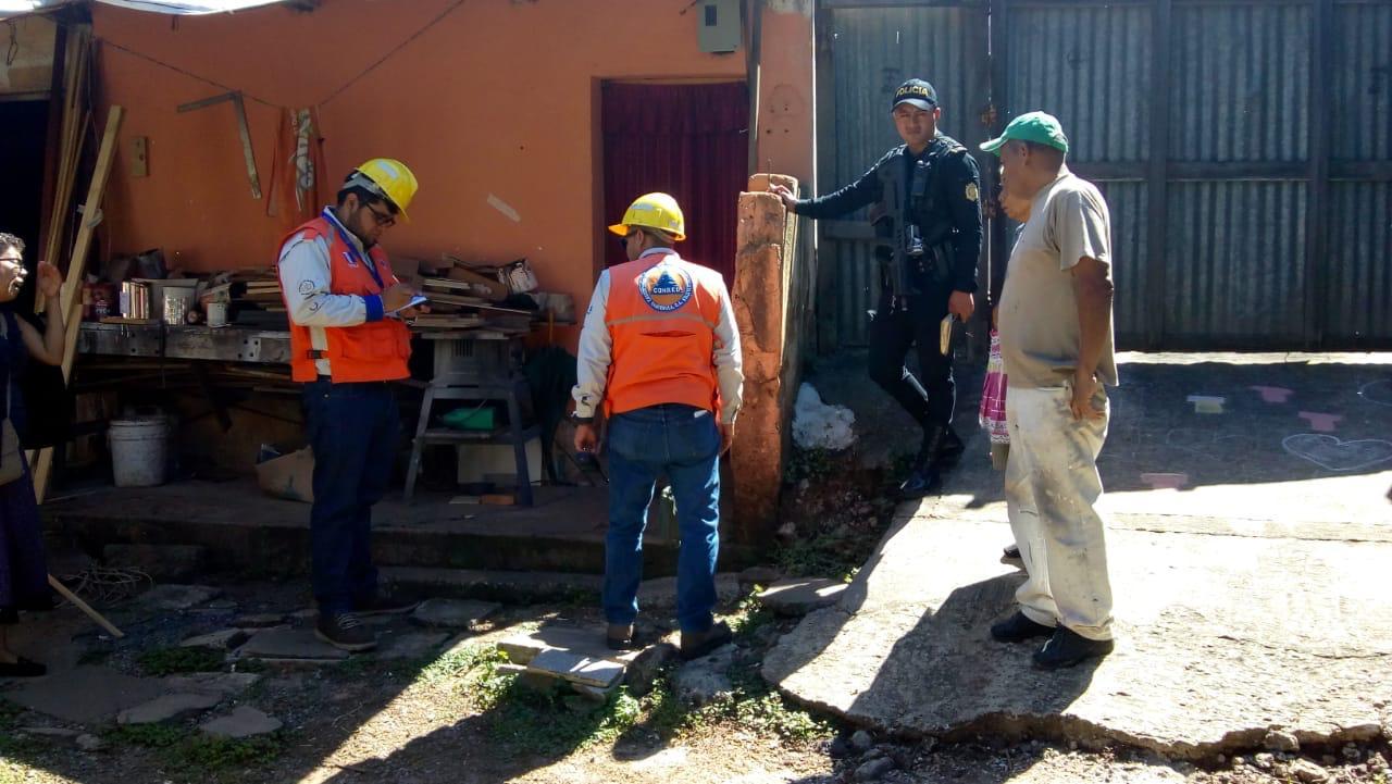 Inspeccionan Colonia Santa Fé zona 13 de la ciudad