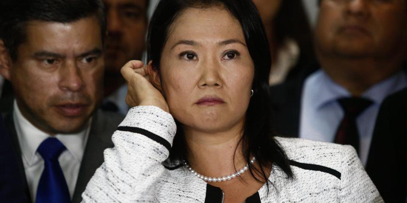 Detienen a Keiko Fujimori