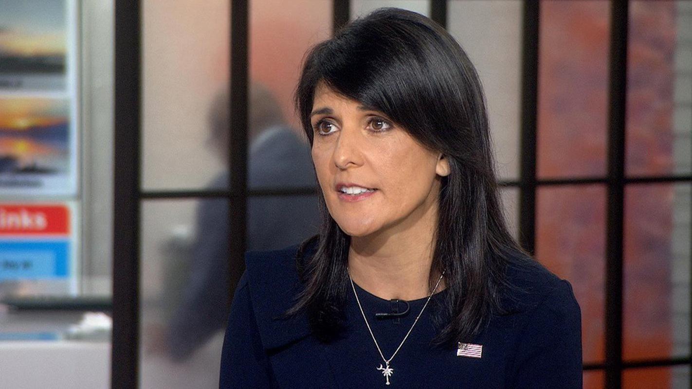 Dimite la embajadora de EEUU en Naciones Unidas, Nikki Haley