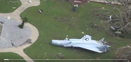 Huracán Michael Tyndall, Florida