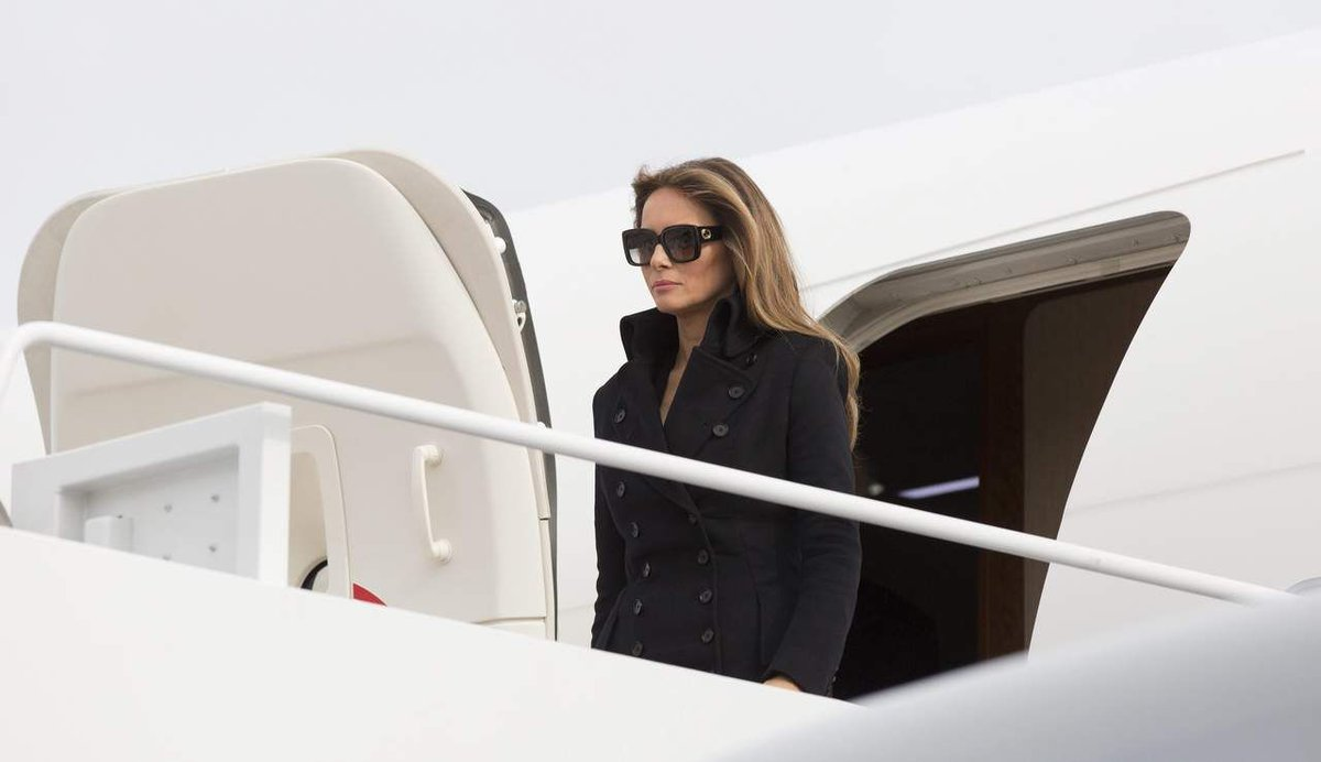Avión FLOTUS Melania Trump Maryland