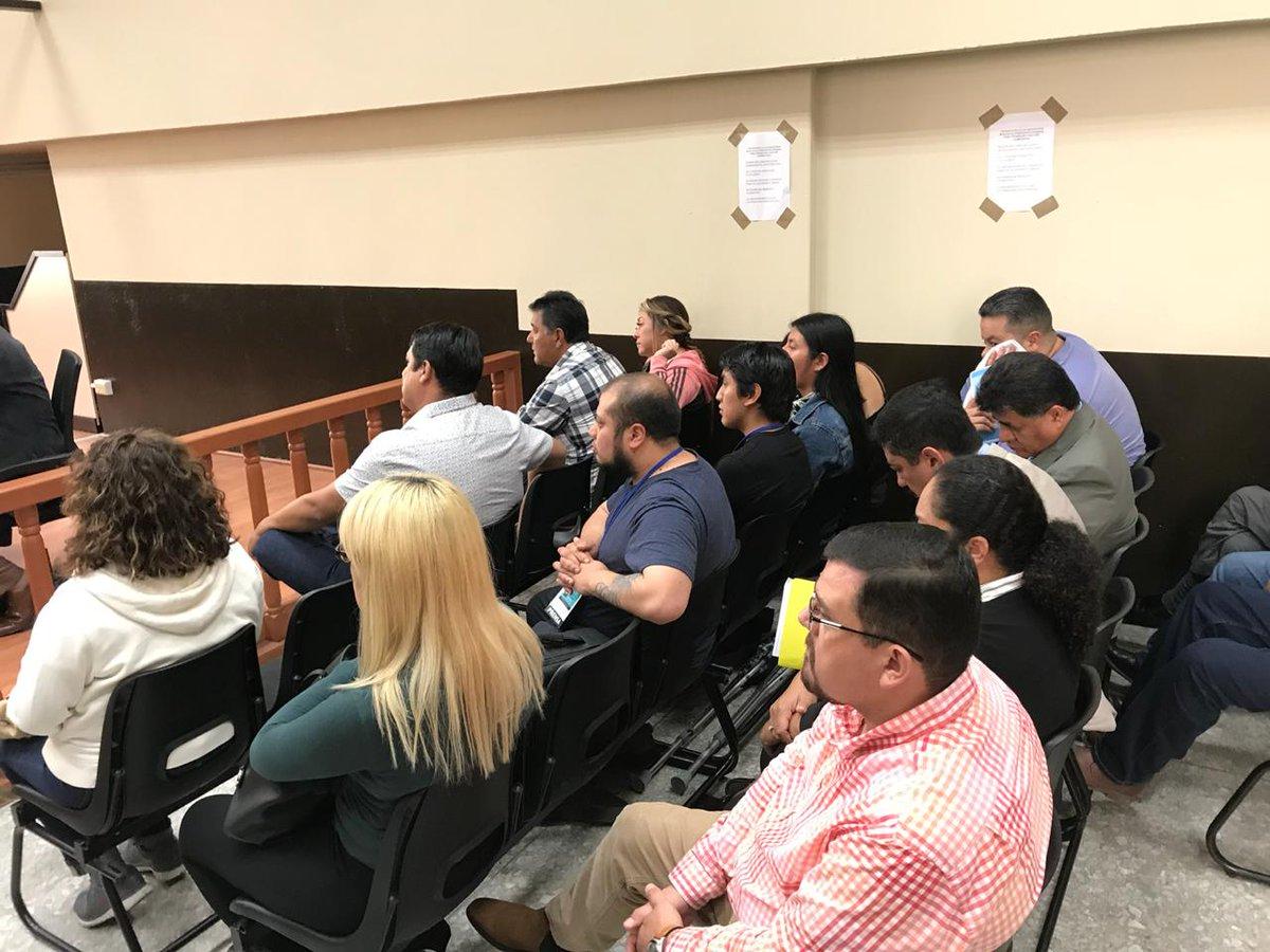 Caso Chicamán: audiencia de apertura a juicio