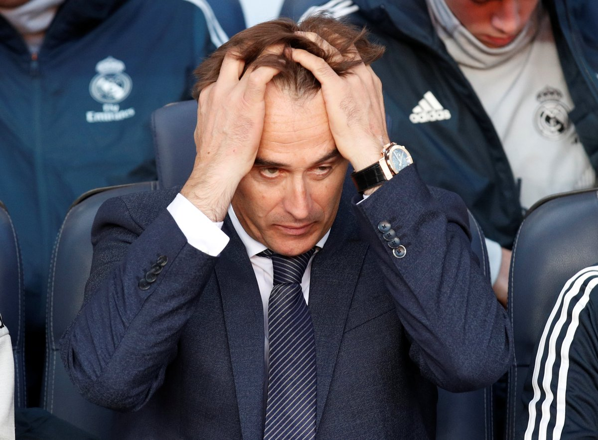 Julen Lopetegui Real Madrid Barcelona