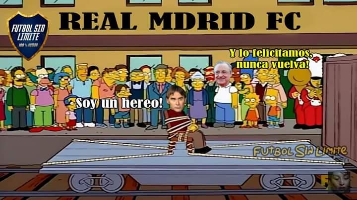 Despiden Julen Lopetegui Real Madrid Memes