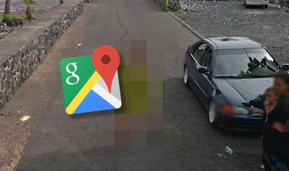 Google Maps Street View Copacabana Río de Janeiro Brasil