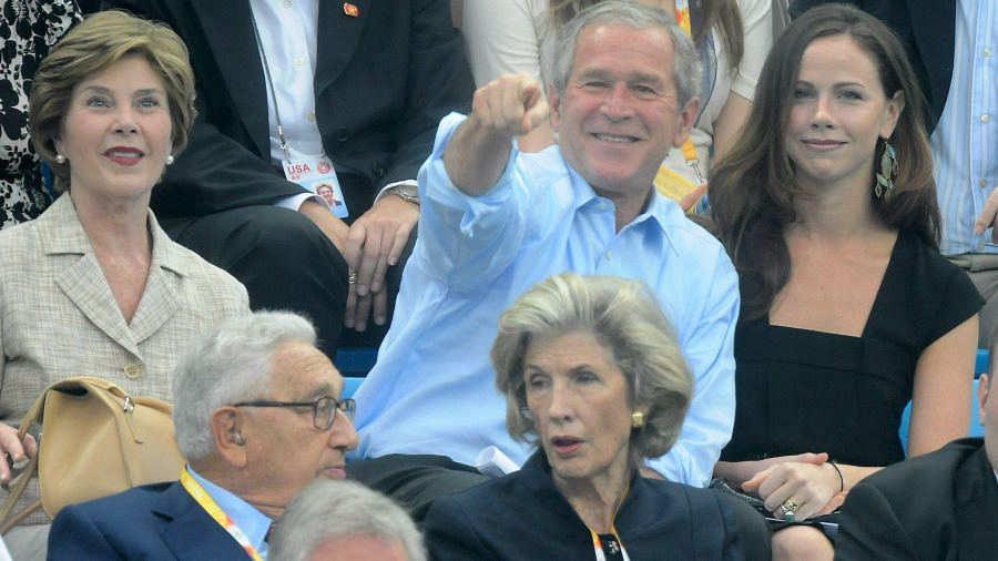Hija presidente estados unidos George Walker Bush Barbara Bush boda