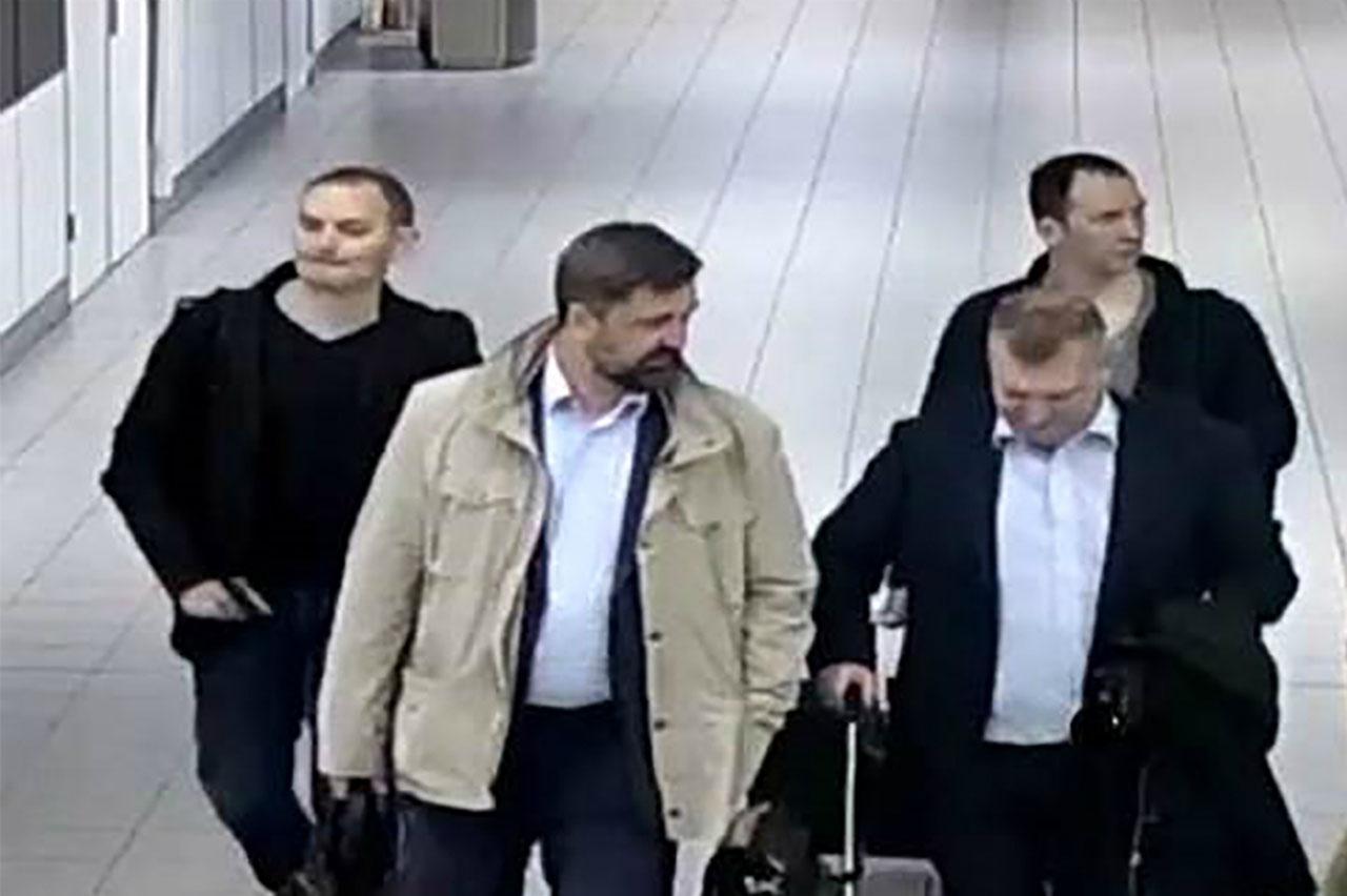 Holandaanunció el jueves haber expulsado a cuatro espías rusos