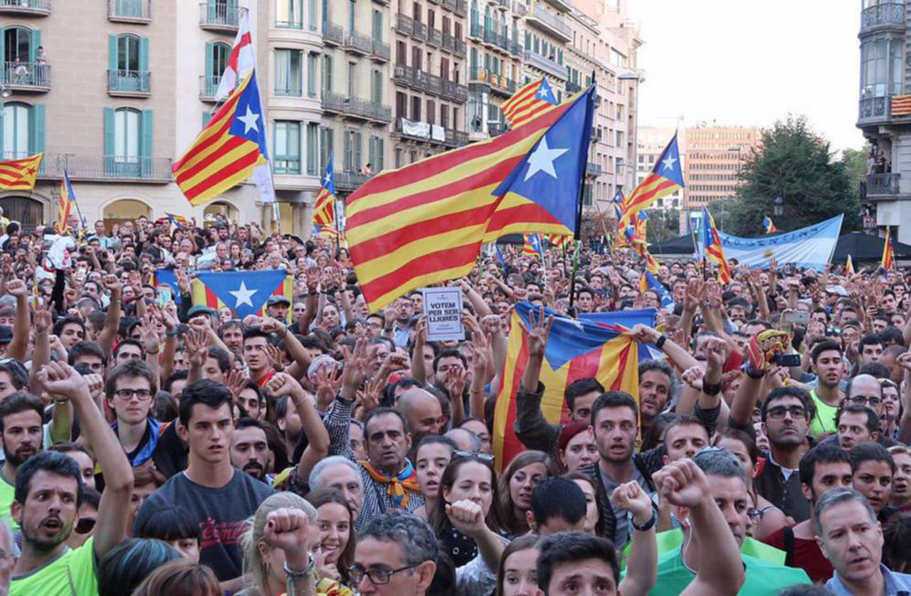 Independentistas catalanes